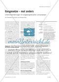 Gasgesetze – mal anders - Unterrichtserfahrungen mit aufgabengesteuerten Lernprozessen Preview 1
