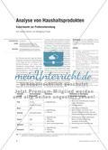 Analyse von Haushaltsprodukten - Experimente zur Probevorbereitung Preview 1