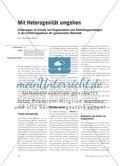 Mit Heterogenität umgehen - Erfahrungen im Einsatz von Diagnosetests und Selbstdiagnosebögen in der Einführungsphase der gymnasialen Oberstufe Preview 1