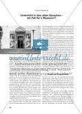 Unterricht in den alten Sprachen – ein Fall für´s Museum?! Preview 1