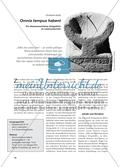Omnia tempus habent - Ein alttestamentliches Zeitgedicht im Lateinunterricht Preview 1
