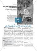 Die Liebe, eine unerhörte Begebenheit - Ein Vergleich von Ovid, Piccolomini, Goethe und Keller Preview 1
