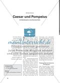 Caesar und Pompeius - Ein Machtkampf um das Römische Reich Preview 1