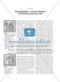 Kalenderblätter – mit den Griechen und Römern durch das Jahr Preview 1