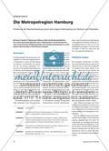 Die Metropolregion Hamburg - Förderung der Raumentwicklung durch eine engere Verknüpfung von Zentrum und Peripherie Preview 1
