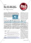 """Nur """"arm, aber sexy"""" oder neue Metropole? - Berlin – eine Stadt mit Ausstrahlung Preview 1"""