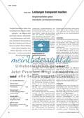 Leistungen transparent machen - Vergleichsarbeiten geben individuelle Lernstandsrückmeldung Preview 1