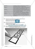 Aufgaben richtig verstehen: Operatoren. Arbeitsmaterial mit Erläuterungen Preview 2