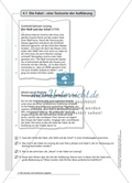 Die Fabel - eine Textsorte der Aufklärung: Arbeitsmaterial mit Erläuterungen Preview 1