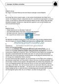 Zu Bildern schreiben: Einführung und Aufgaben mit Lösungen Preview 6