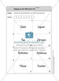 Umgang mit dem Wörterbuch: Selbstkontrollaufgaben Preview 4