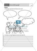 Zu Bildern schreiben: Arbeitsmaterial Preview 1
