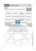 Wörternetze erstellen: Arbeitsmaterial Preview 1