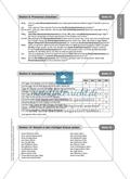 Pronomen einsetzen: Arbeitsmaterial mit Lösungen Preview 2