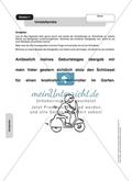Bestimmung von Satzgliedern: Umstellprobe. Arbeitsmaterial mit Lösungen Preview 1