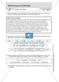 Worttrennung am Zeilenende: Arbeitsmaterial mit Lösungen Preview 2
