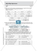 Groß- und Kleinschreibung bei mehrteiligen Eigennamen: Arbeitsmaterial mit Lösungen Preview 2