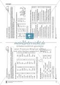 Groß- und Kleinschreibung: Zahlwörter und Farben. Arbeitsmaterial mit Lösungen Preview 2