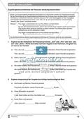 Inhalte zusammenfassen: Bezüge der Personal- und Possessivpronomen. Arbeitsmaterial mit Erläuterungen Preview 4