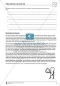Referate und Präsentationen vorbereiten: Informationen sammeln. Arbeitsmaterial mit Erläuterungen Preview 2