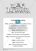 Einfache Lesetexte für den Frühling: Arbeitsmaterial Preview 1