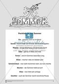 Einfache Lesetexte: Packliste für den Sommer Preview 1