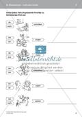 Im Klassenraum: Vorsilben von Verben rund ums Lernen. DaZ-Material Preview 3