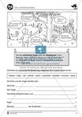 Peter und der Wolf: Wörtliche Rede und Zeitformen. Arbeitsmaterial mit Lösungen Preview 1