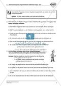 Kommasetzung bei indirekten Fragesätzen in Satzgefügen: Arbeitsmaterial mit Lösungen Preview 4