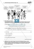 Kommasetzung bei indirekten Fragesätzen in Satzgefügen: Arbeitsmaterial mit Lösungen Preview 6