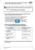 Kommasetzung bei Infinitivgruppen in Satzgefügen: Arbeitsmaterial mit Lösungen Preview 2