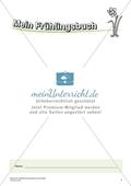 Orginielle Schreibanlässe für das Frühjahr: Materialien für das Planen und Schreiben Preview 1