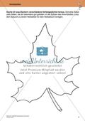 Originelle Schreibanlässe für den Herbst: Materialien für das Planen und Schreiben von Texten Preview 2