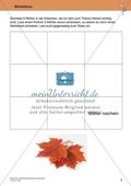 Originelle Schreibanlässe für den Herbst: Materialien für das Planen und Schreiben von Texten Preview 9