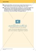 Originelle Schreibanlässe für den Sommer: Materialien für das Planen und Schreiben von Texten Preview 2