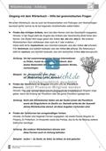 DaZ-Training: Umgang mit dem Wörterbuch - Hilfe bei grammatischen Fragen. Arbeitsmaterial mit Lösungen Preview 1