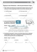 DaZ-Training: Umgang mit dem Wörterbuch - Hilfe bei grammatischen Fragen. Arbeitsmaterial mit Lösungen Preview 2