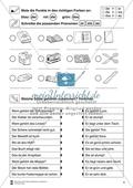 Artikel und Personalpronomen rund um den Schulranzen: Arbeitsmaterial Preview 1