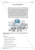 Einen Unfallbericht verfassen: Übungen + Lösungen Preview 3