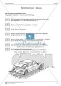 Einen Unfallbericht verfassen: Übungen + Lösungen Preview 6