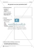 Einen persönlichen Brief gestalten: Übungen + Lösungen Preview 1