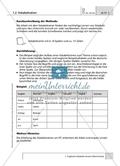 Methoden zum Thema 'Wortschatz': Erläuterung mit Hinweisen Preview 2