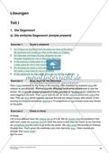 Simple Present: Informationen zur Bildung und Verwendung + Übungen + Lösungen Preview 8