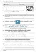 Partizip statt Relativsatz im Englischunterricht - Übungsaufgaben rund um das Thema