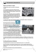 Die japanische Lebensweise: Arbeitsmaterial mit Lösungen Preview 3