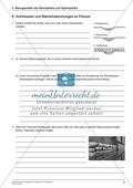 Hochwasser und Überschwemmungen an Flüssen: Arbeitsmaterial mit Lösung Preview 1