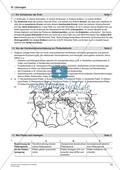 Von der Kontinentalverschiebung zur Plattentektonik: Arbeitsmaterial mit Lösung Preview 3