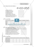 Hausaufgaben zum Berechnen von Termen und Lösen von Gleichungen mit Lösungen. Preview 3
