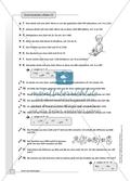 Hausaufgaben zum Berechnen von Termen und Lösen von Gleichungen mit Lösungen. Preview 4