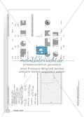 Geometrie - Hausaufgaben zum Umfang und Flächeninhalt von geometrischen Figuren mit Lösungen. Preview 9